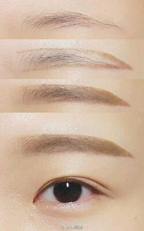 Straight Brows Tutorial Pibuu