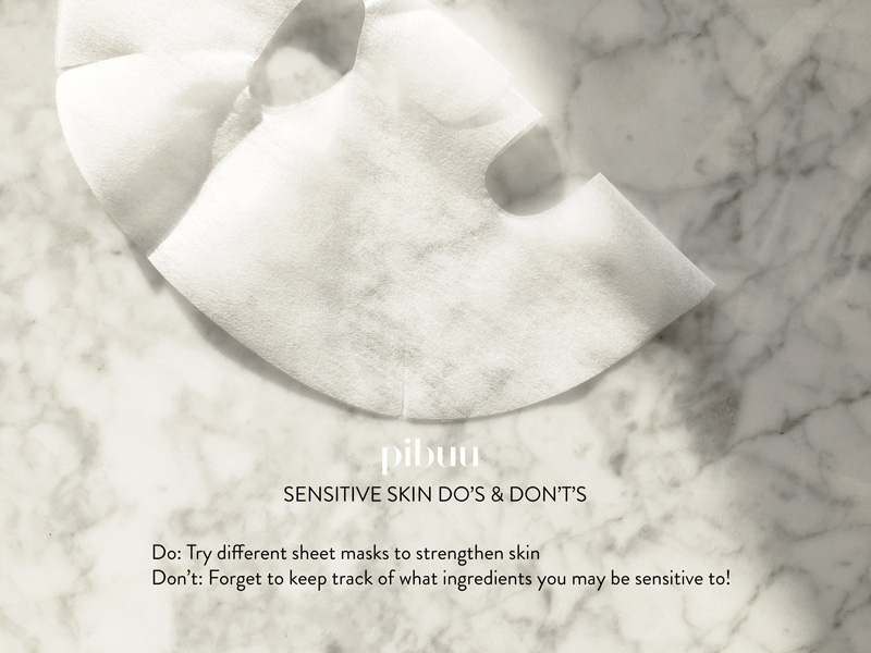 The Do's and Don'ts For Sensitive Skin: Part 1