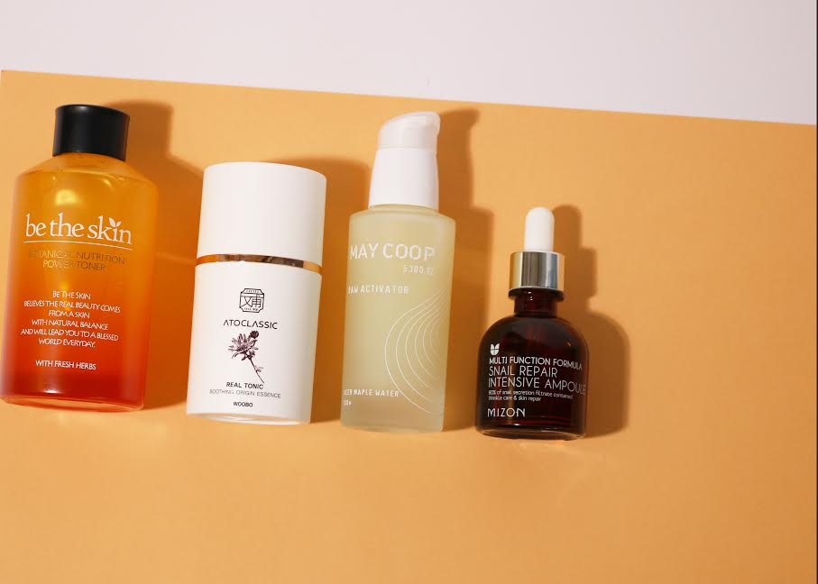 What's the difference between a Toner, Essence, Serum and Ampoule?