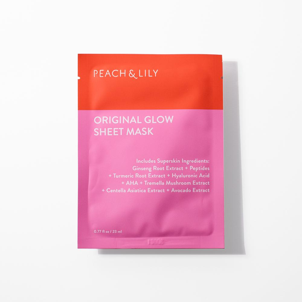 Peach & Lily Original Glow Sheet Masks