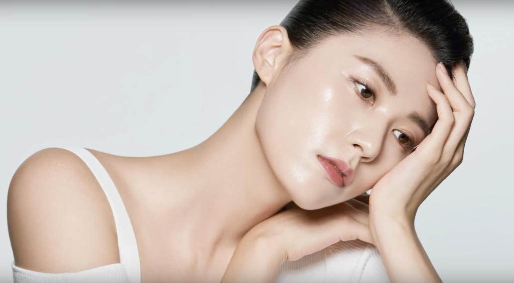 Simple, beautiful fall makeup: Jung Saem Mool style