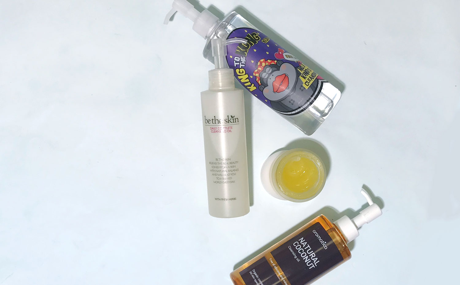 double cleansing oils
