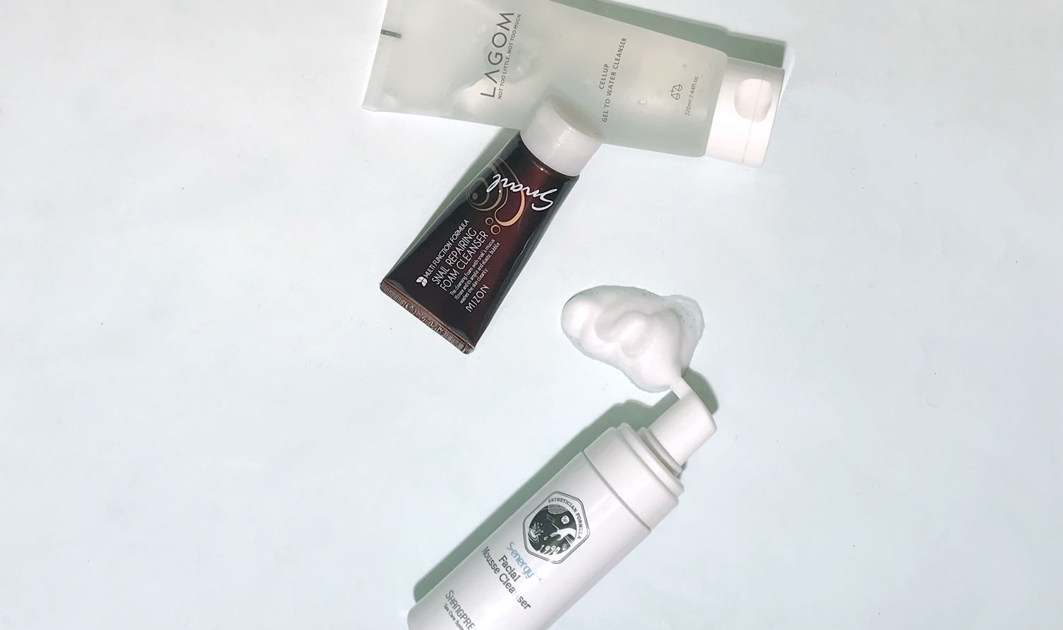 double cleansing water