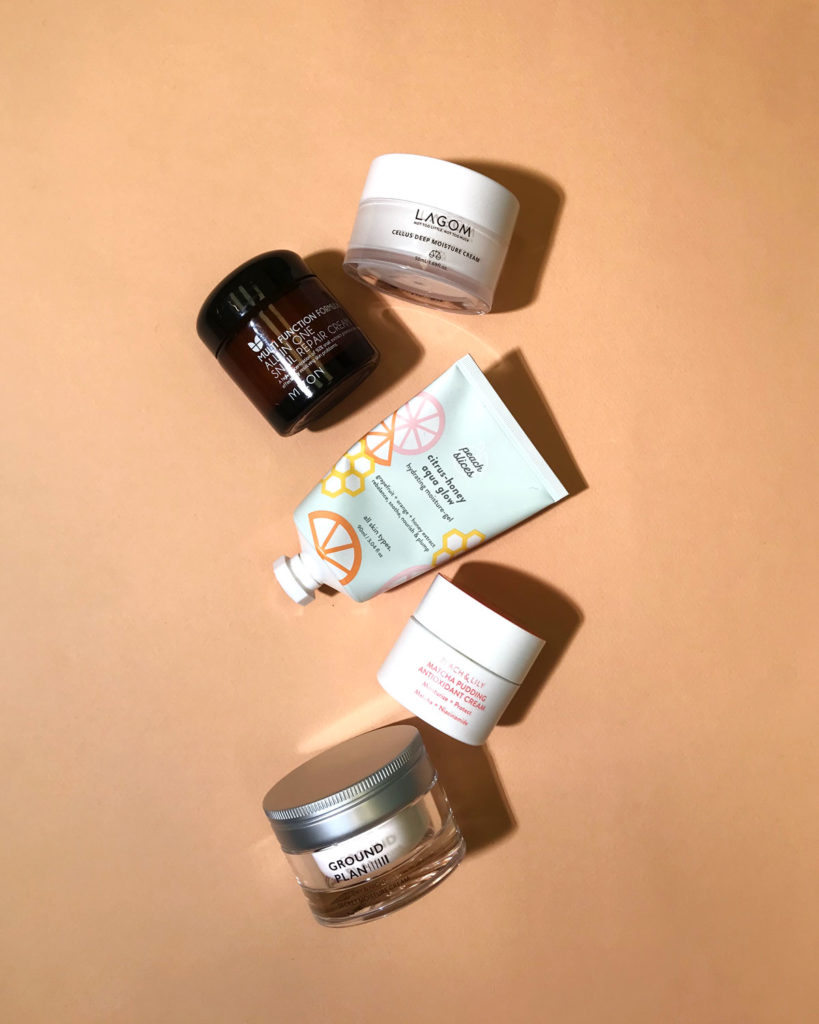 Moisturizers Pull Triple-Duty; They Hydrate, Soften, and Seal Everything In.