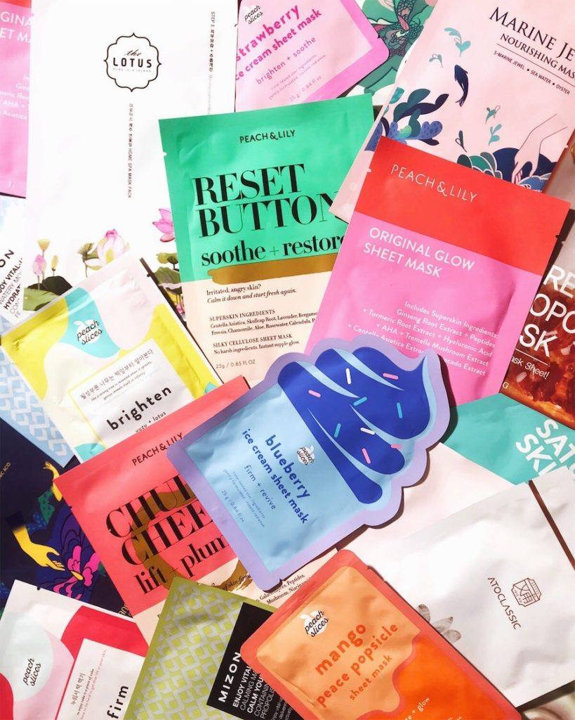 All About Sheet Masks.