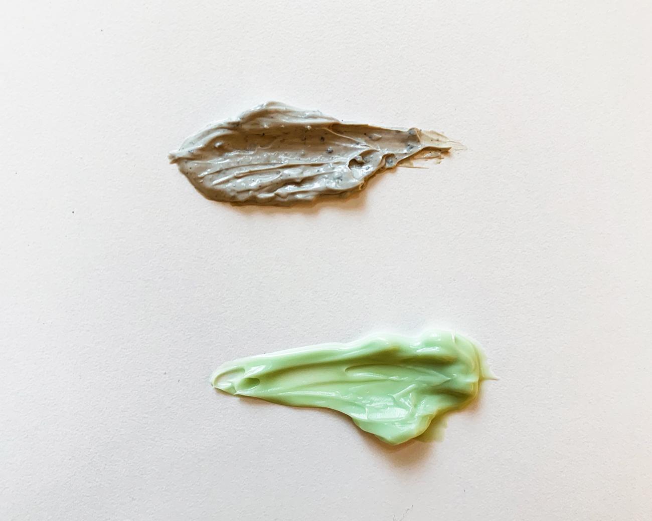 matcha green tea textures