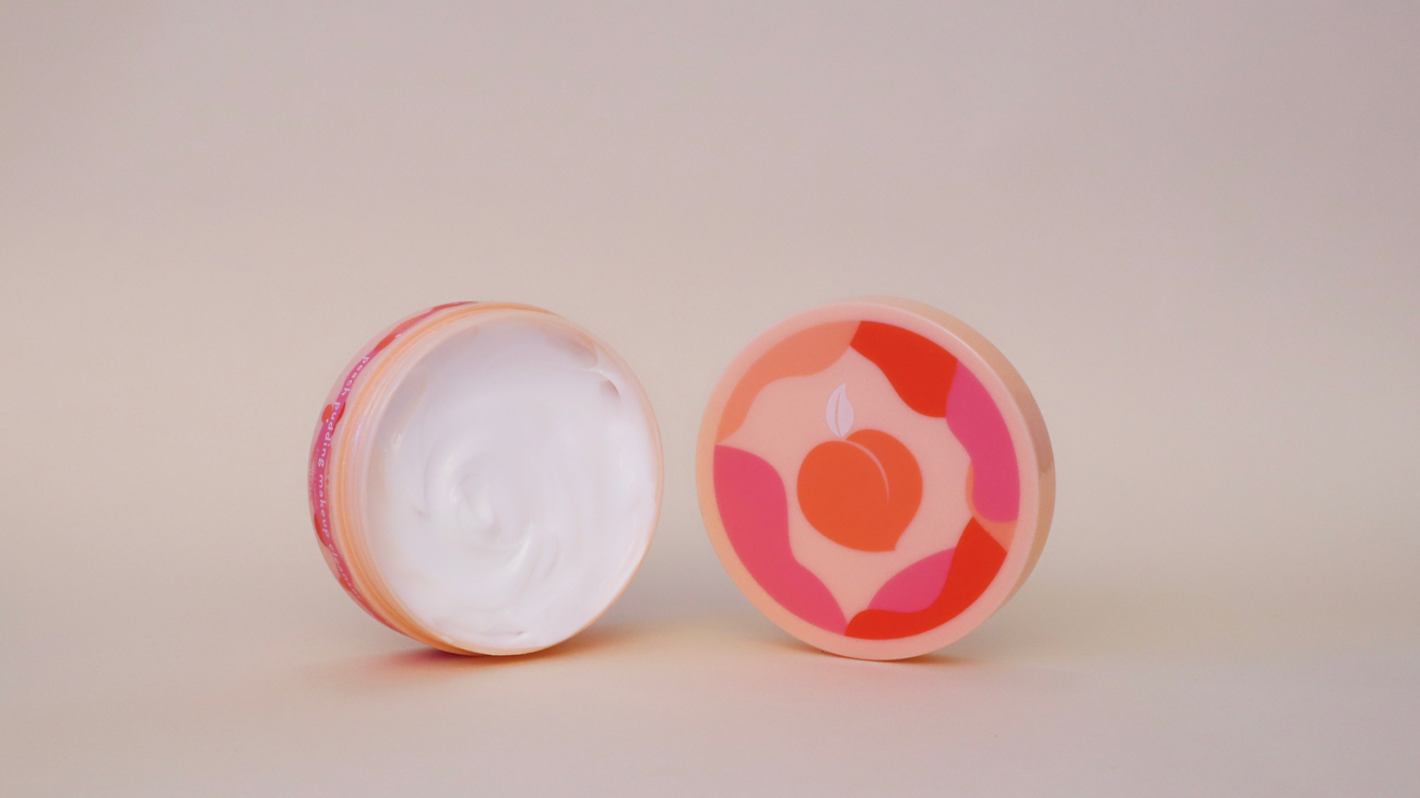 lipcare peach slices